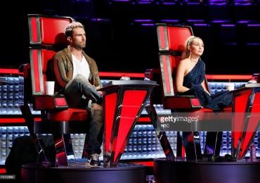 Miley Cyrus e Adam Levine