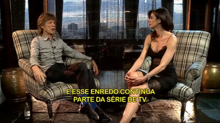 Mick Jagger entrevista