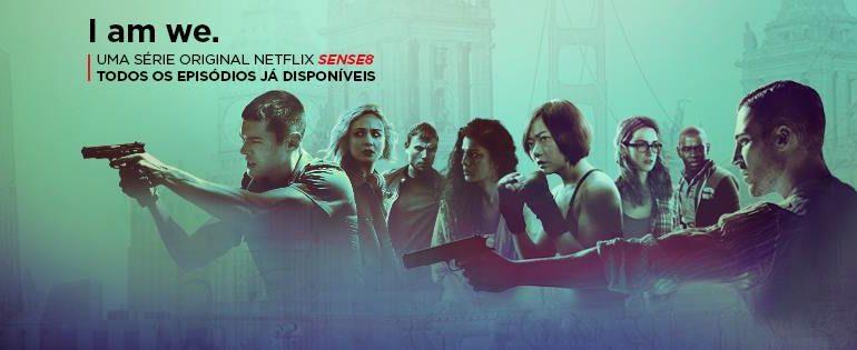 Atriz de Sense8 confirma estreia da 2ª temporada para o Natal!