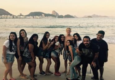 Cody Simpson está no Rio de Janeiro!