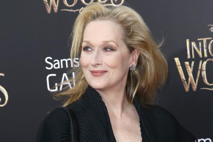 Meryl Streep== The World Premiere of INTO THE WOODS== The Ziegfeld Theatre, New York== December 8, 2014== ©Patrick McMullan== Photo-JIMI CELESTE/patrickmcmullan.com==