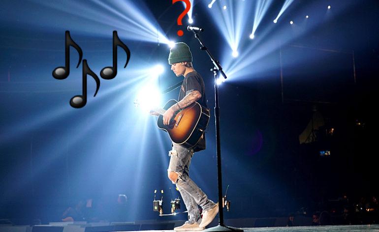 Bieber usou playback V Festival