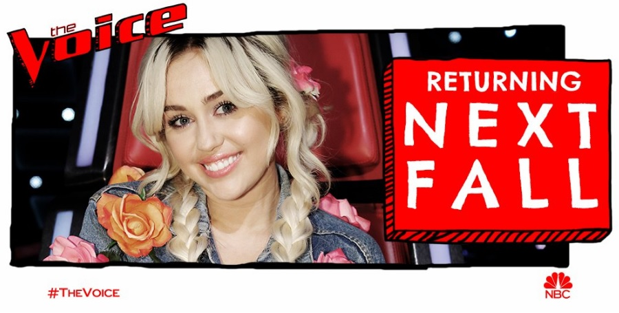 Miley Cyrus voltará a ser jurada no The Voice USA em 2017