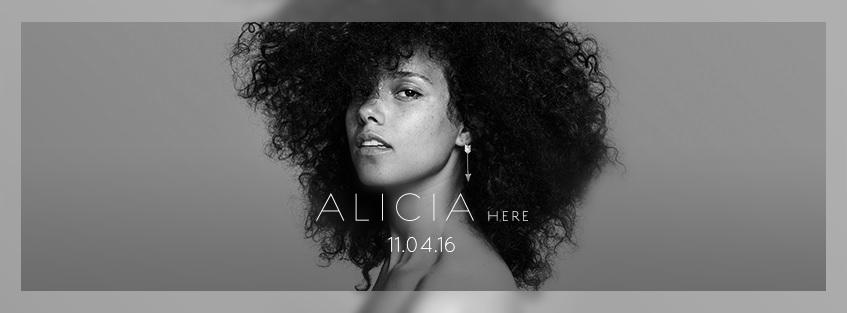 Alicia Keys libera tracklist do álbum 'Here'; confira