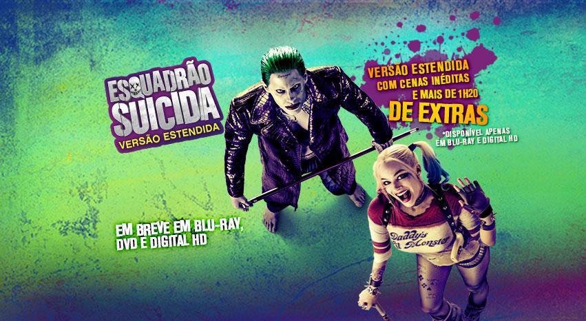 """""""Esquadrão Suicida"""": Confira o trailer da versão estendida do filme"""