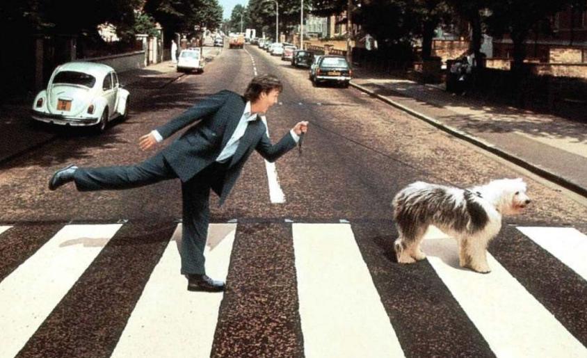 Paul McCartney Abbey Road Studios