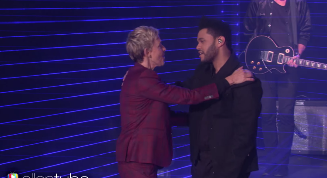 Starboy The Weeknd Ellen