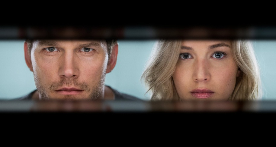 'Passageiros': teaser mostra Jennifer Lawrence e Chris Pratt em encontro