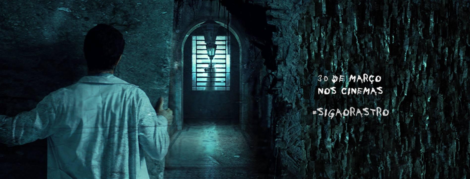 """Assista o trailer de """"O Rastro"""", filme de terror nacional com Leandra Leal e Rafael Cardoso"""