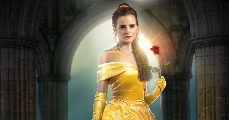 Emma Watson cantando A Bela E A Fera