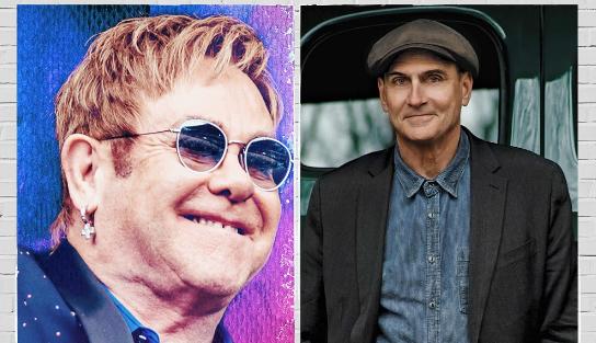 Elton John e James Taylor