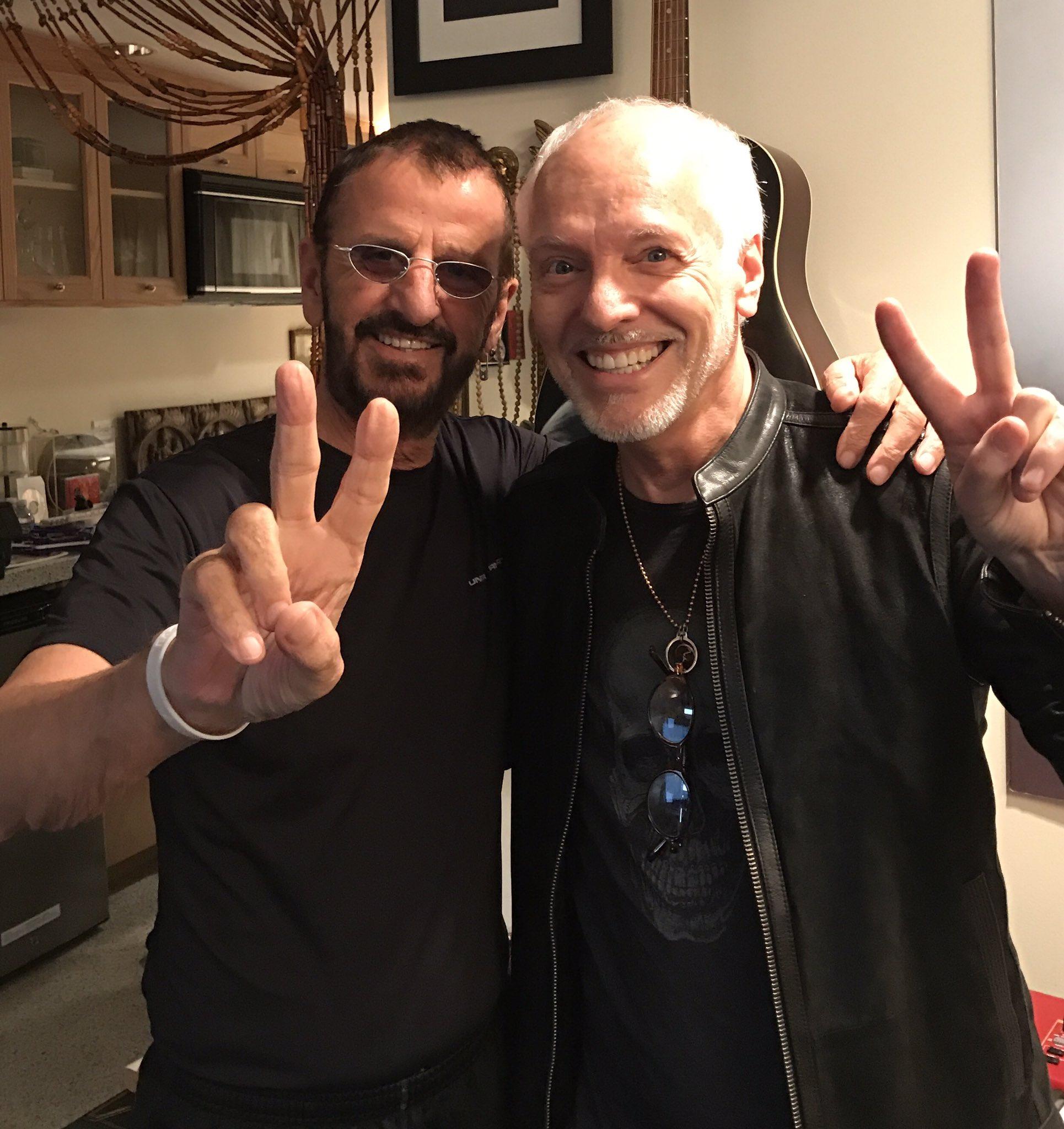Ringo Starr e Peter Frampton