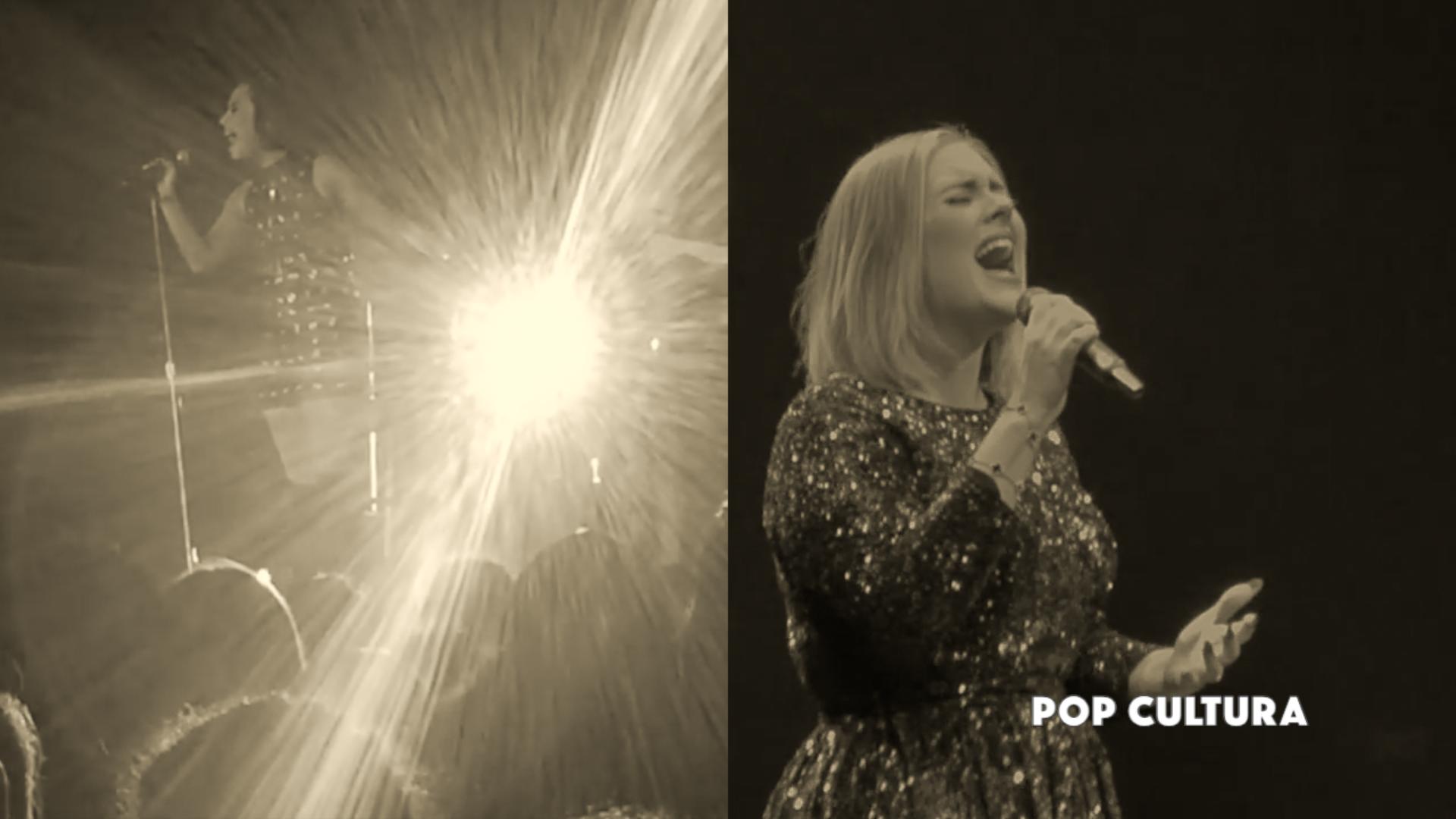 Adele e Demi Lovato Hello Dueto Montagem