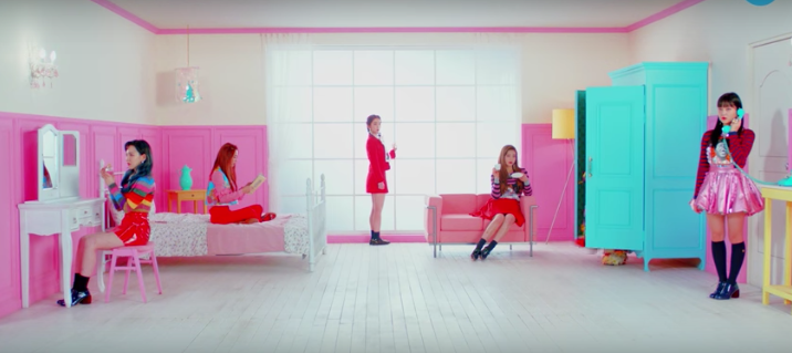 Red Velvet Clipe Rookie