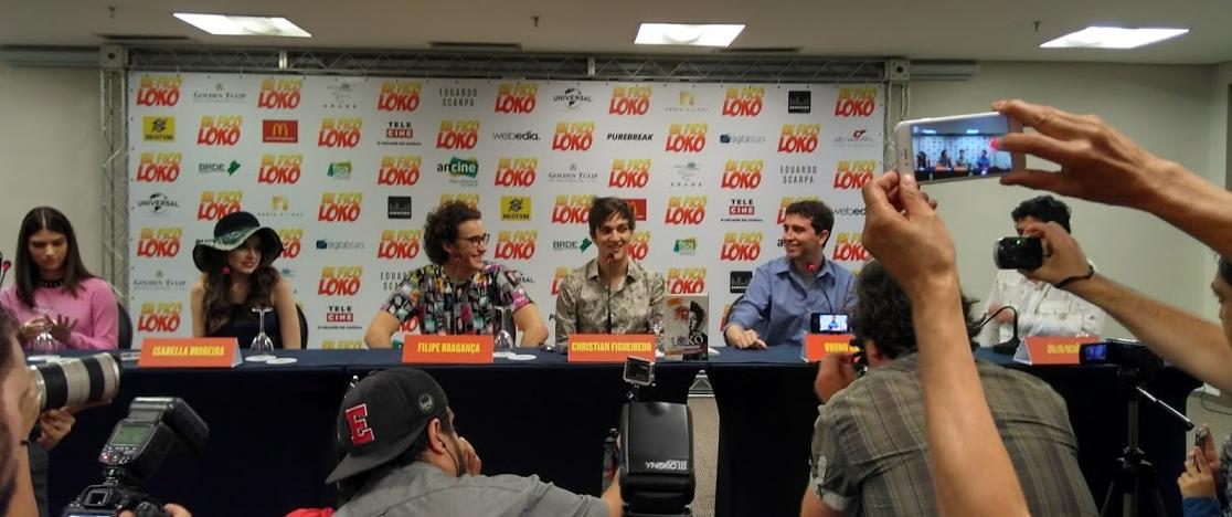"Elenco de ""Eu Fico Loko"". Foto: Pop Cultura / Guilherme Peternelli."
