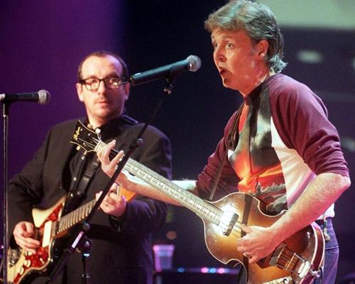 Paul McCartney e Elvis Costello - rara demo