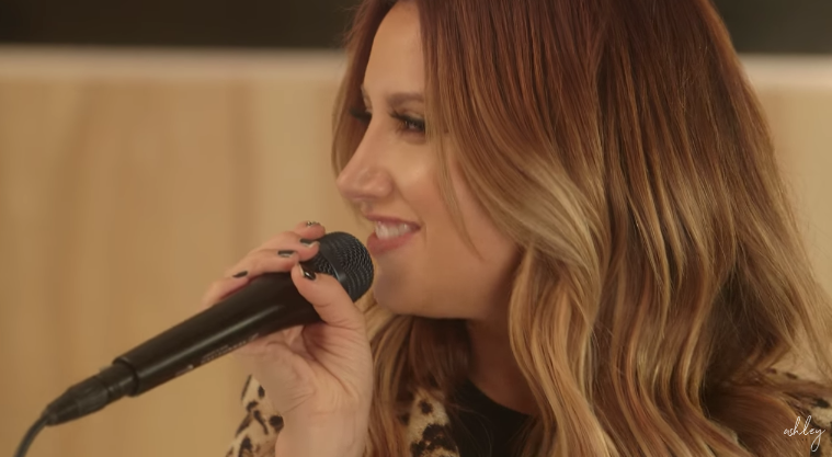 Ashley Tisdale Toxic Cover