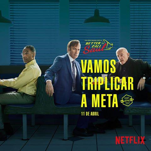 Estreias da Netflix em abril