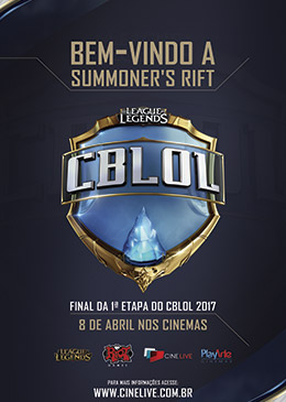 Poster do CBLOL 1ª etapa