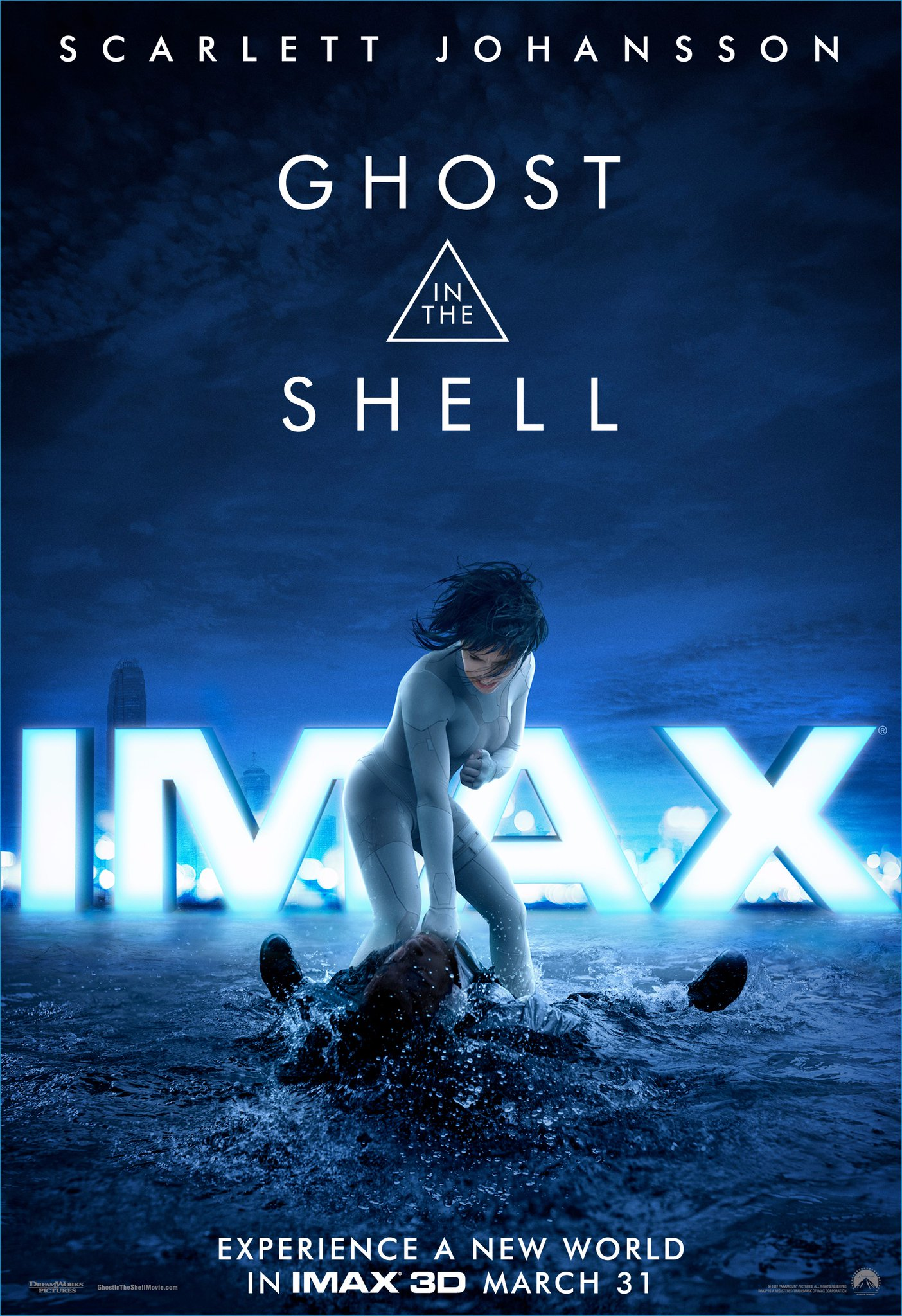 Poster IMAX de Ghost In The Shell