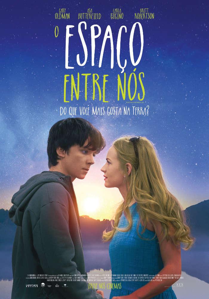 Poster de O Espaço Entre Nós