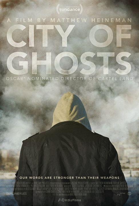 Poster de Cidades de Fantasmas (americano)