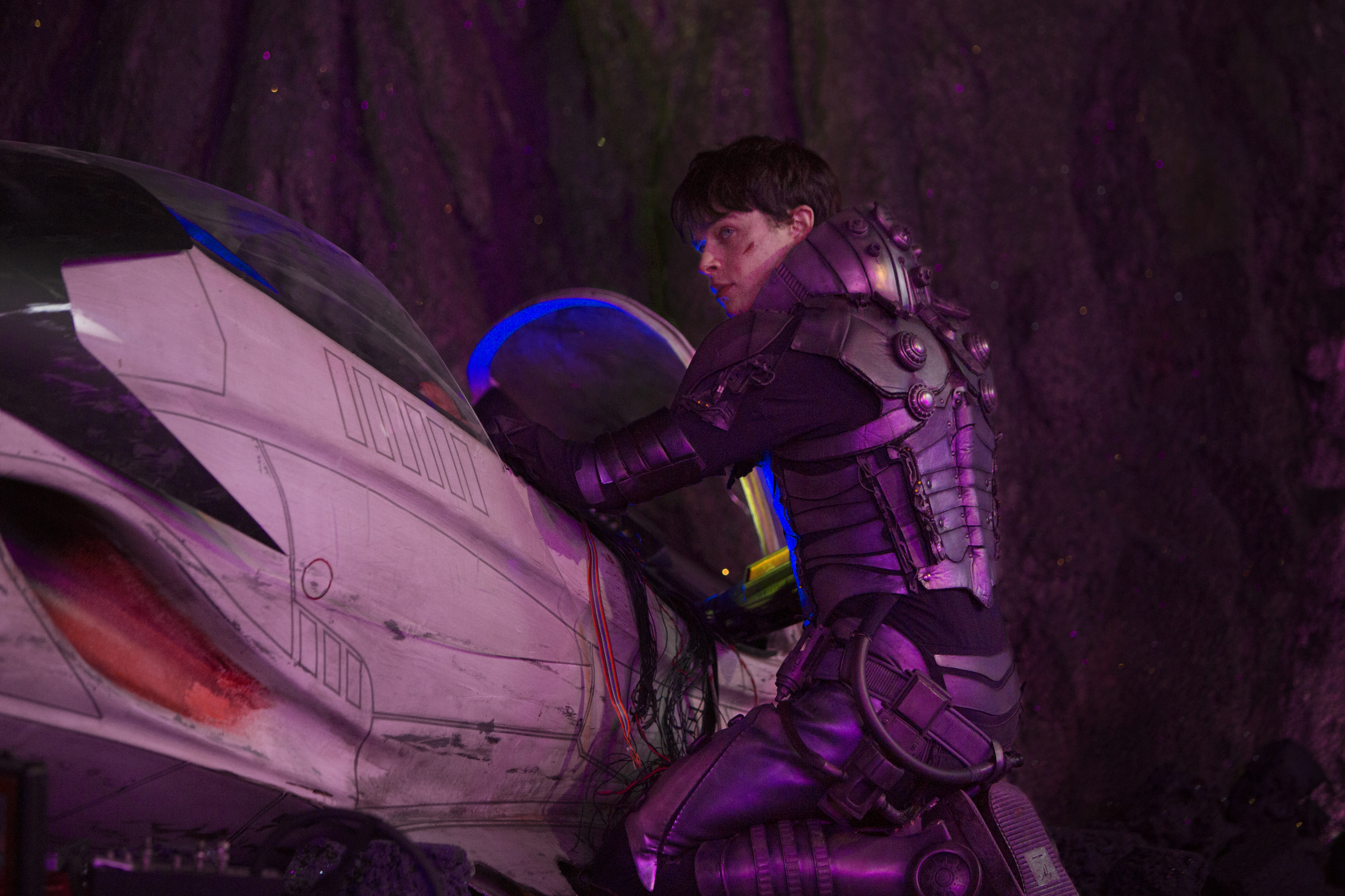 Photo Credit:  Lou Faulon  Dane DeHaan stars in EuropaCorp's Valerian and the City of a Thousand Planets.  Copyright: