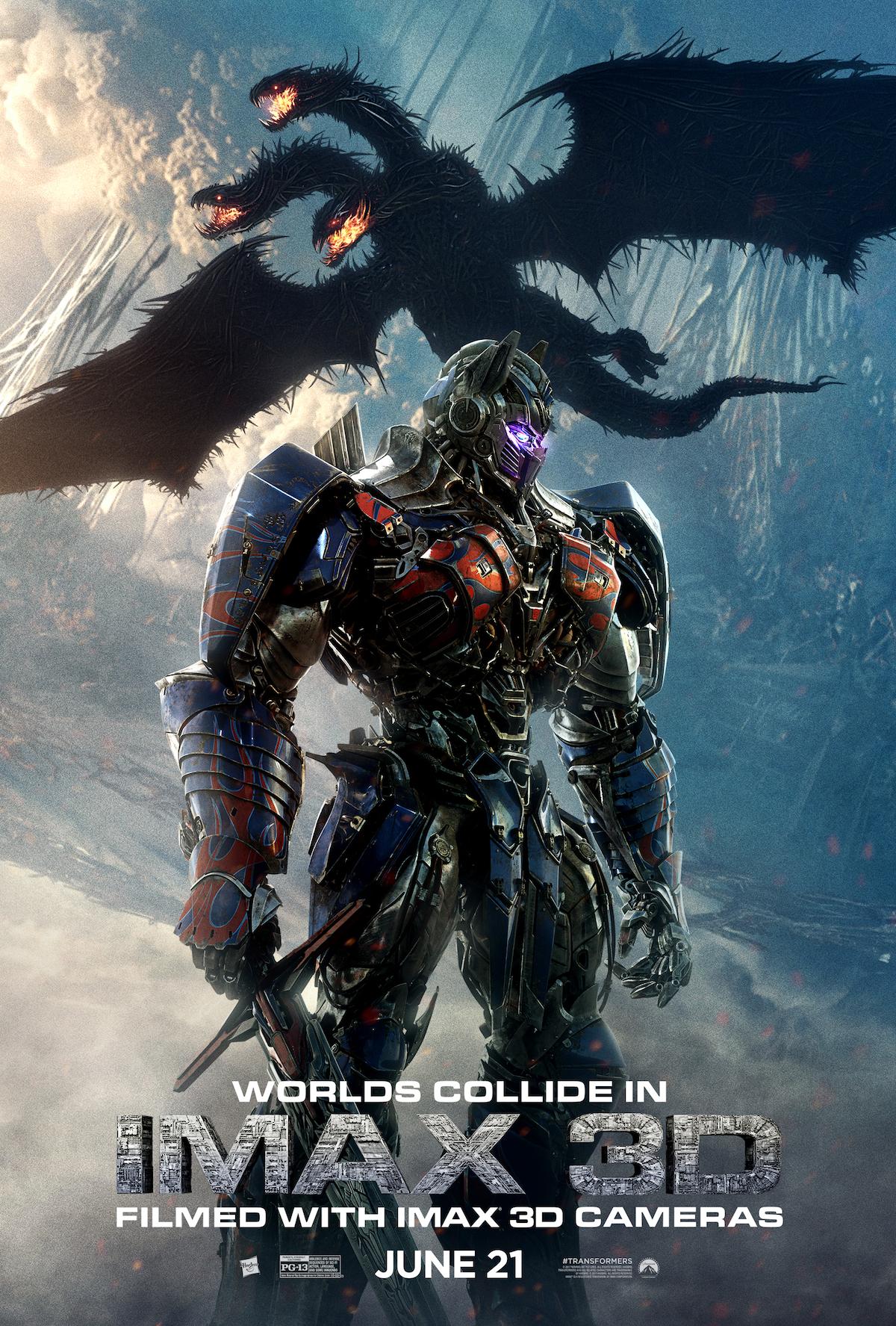 Poster de Transformers: O Ultimo Cavaleiro