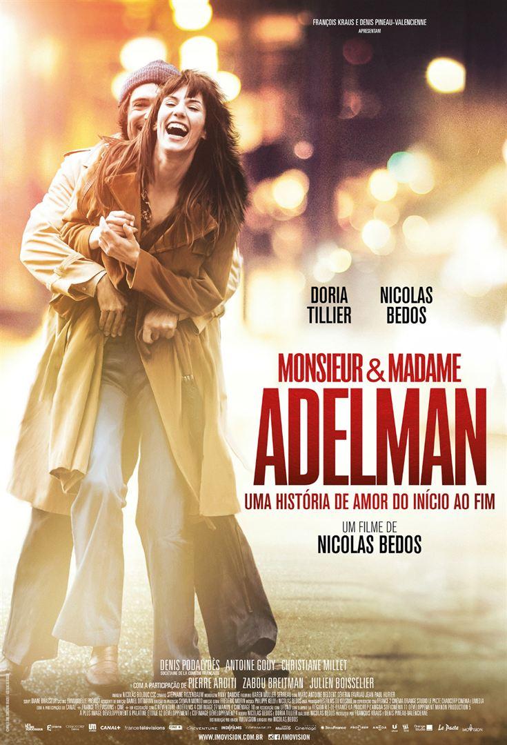 Poster de Monsieur e Madame Adelman