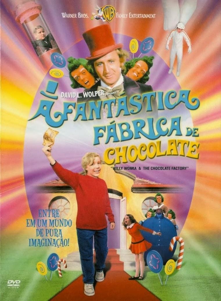 Poster de A Fantástica Fábrica de Chocolate (1971)