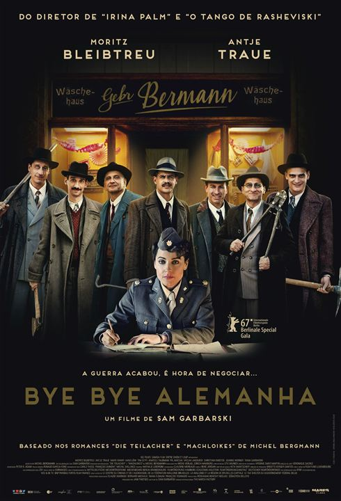 Poster de Bye Bye Alemanha