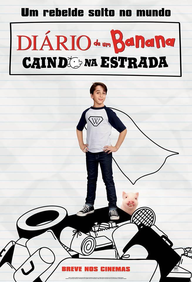 Poster de Diário de um Banana: Caindo na Estrada