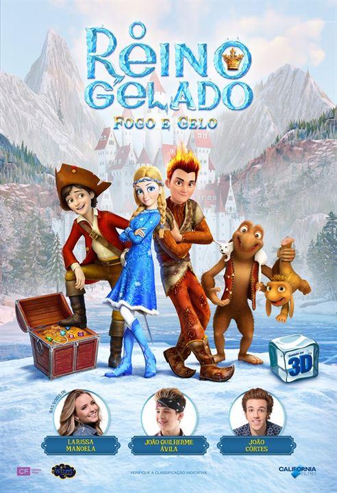 Poster de O Reino Gelado - Fogo e Gelo