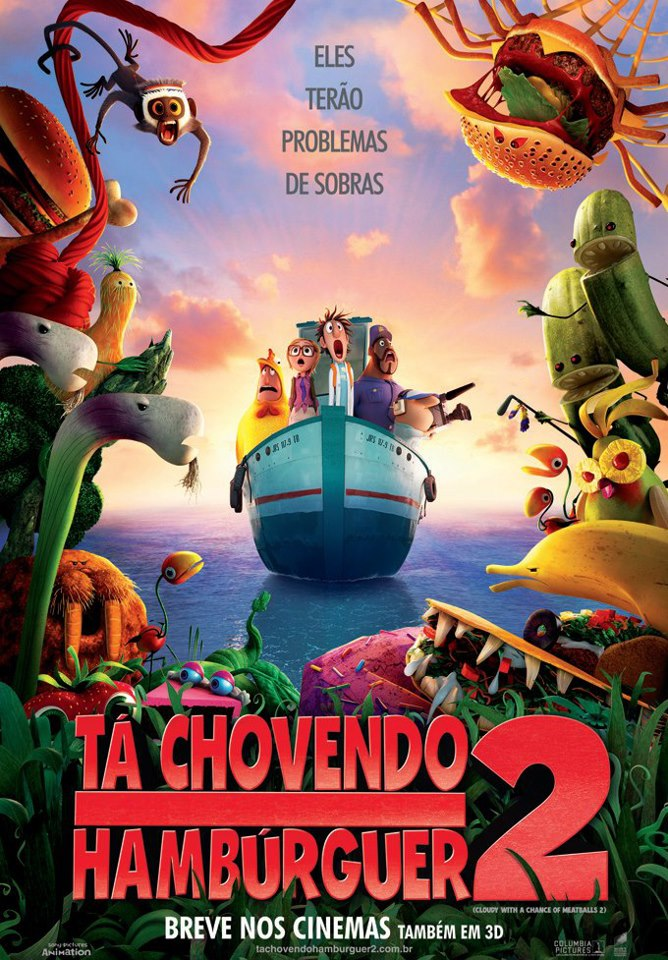 Poster de Tá Chovendo Hamburger 2