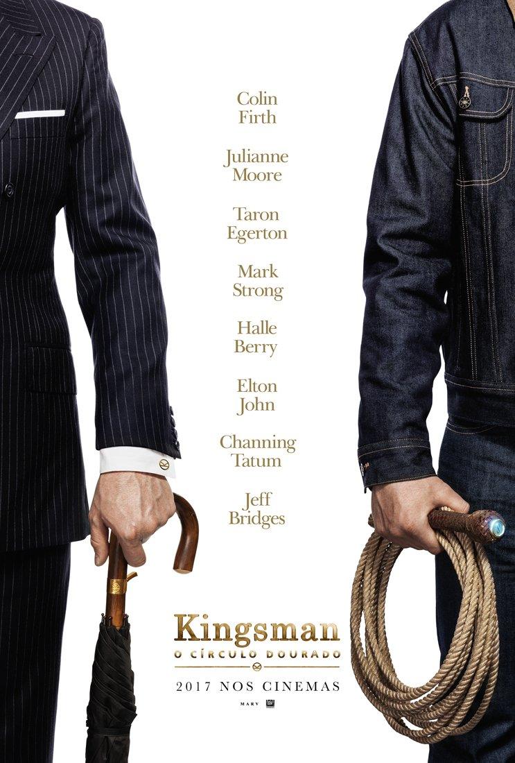 Poster de Kingsman - Círculo Dourado