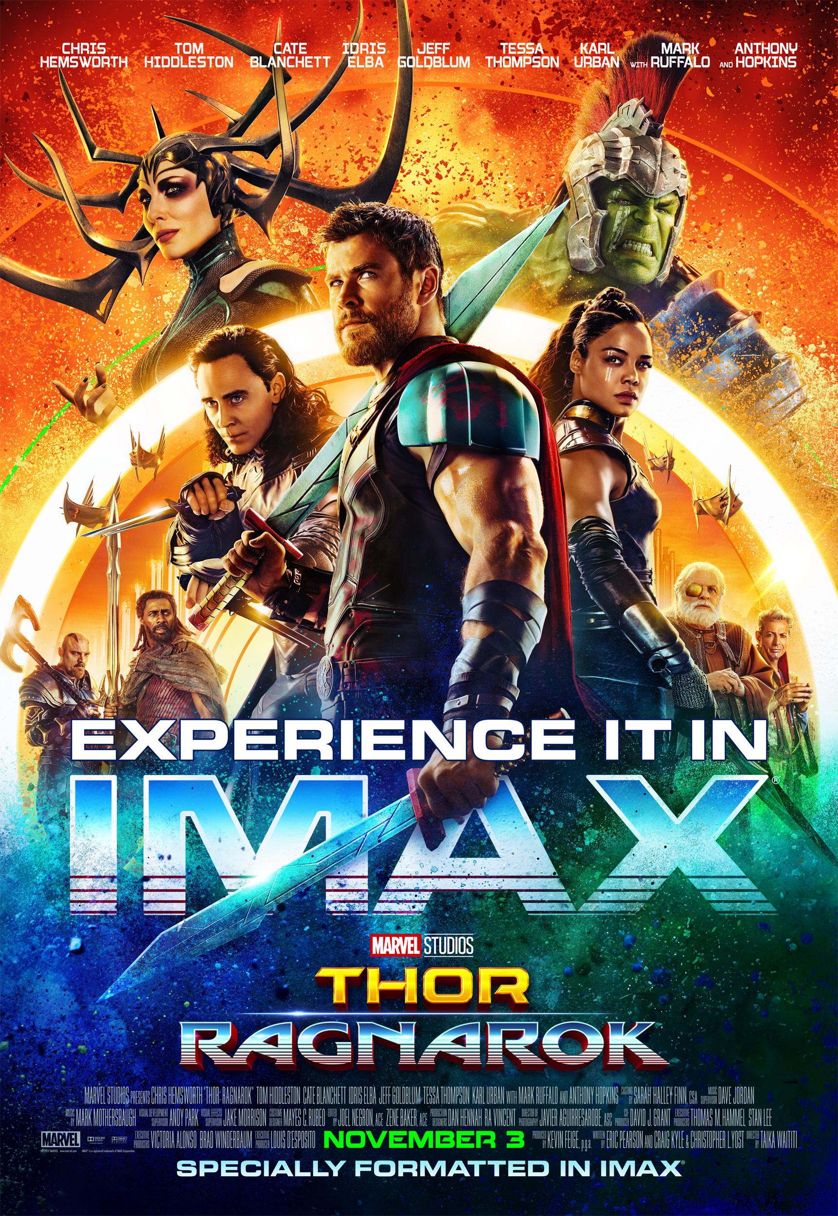 Poster de Thor Ragnarok