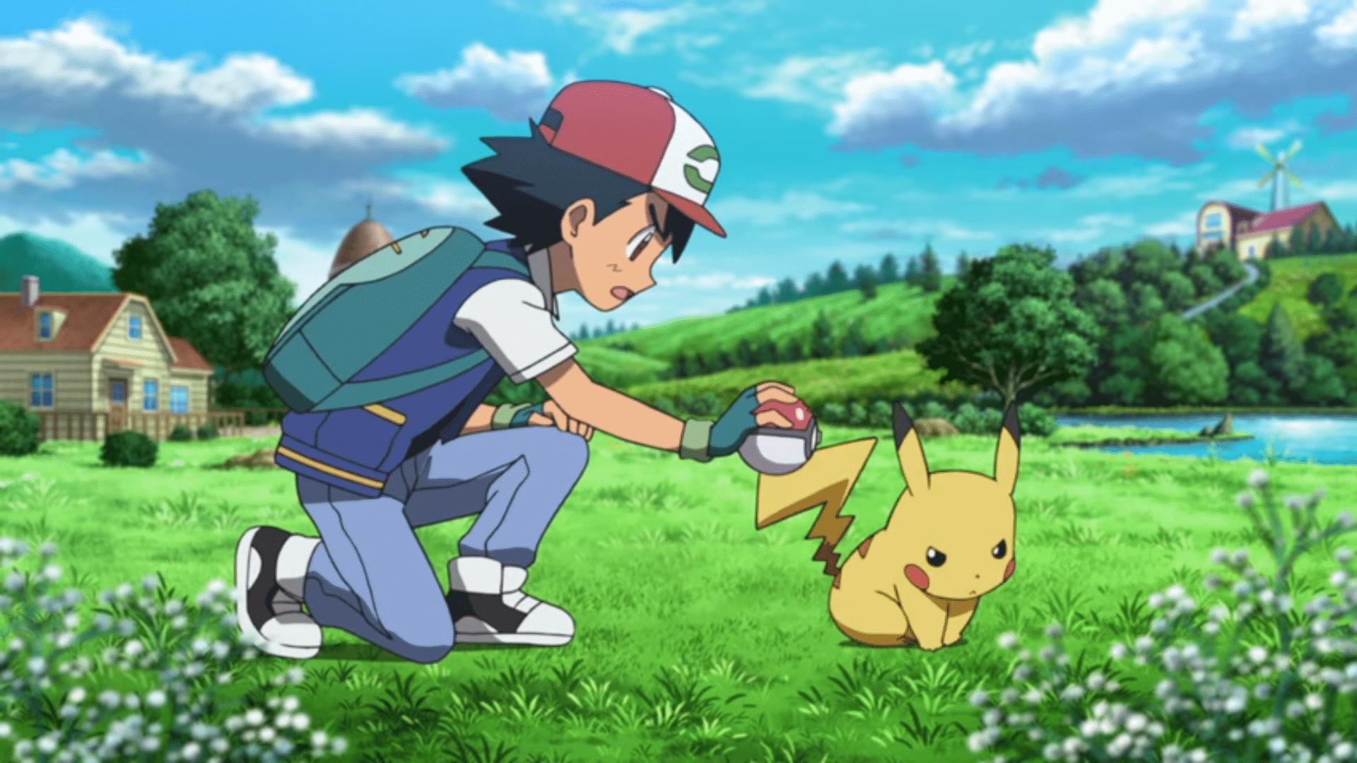 Cena de Pokémon