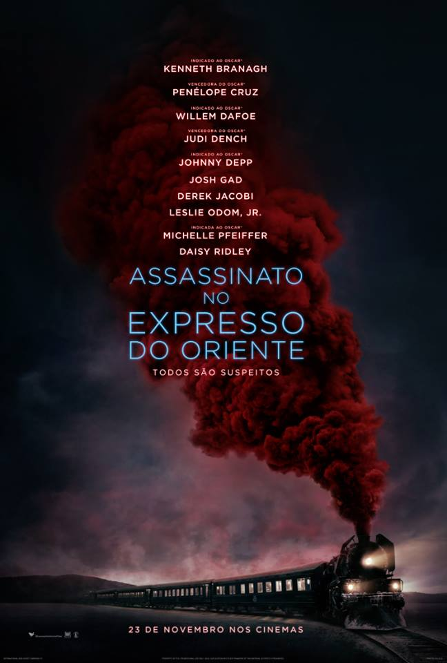 Poster de Assassinato no Expresso do Oriente