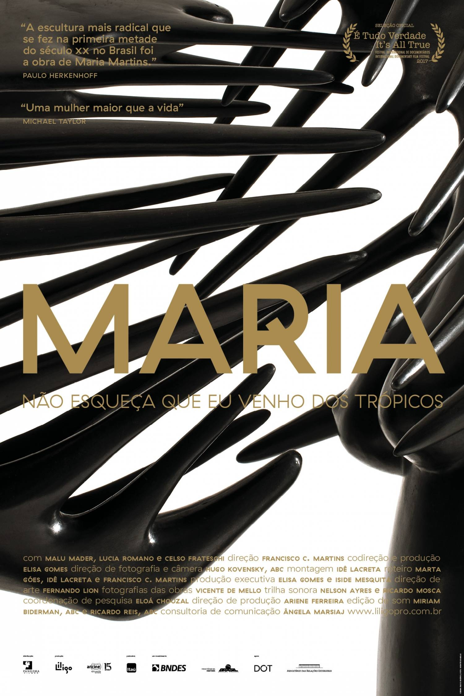 Poster de Maria - Não Esqueça que eu Venho dos Trópicos