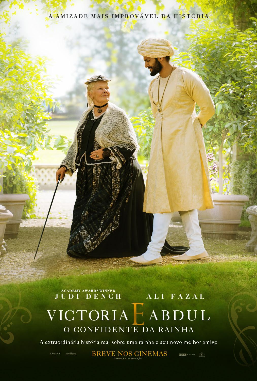Poster de Victoria e Abdul - O Confidente da Rainha