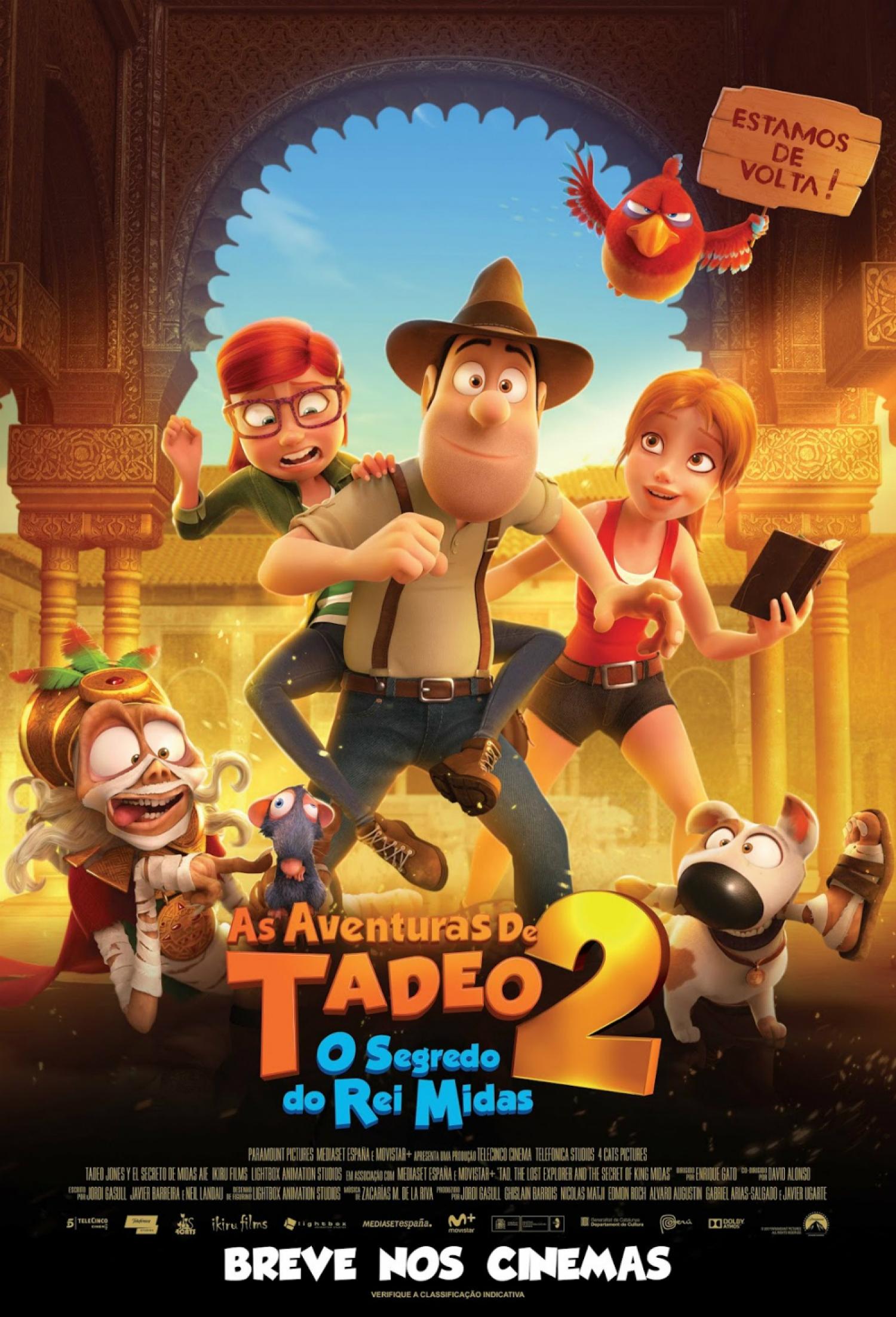 Poster de As Aventuras de Tadeo 2