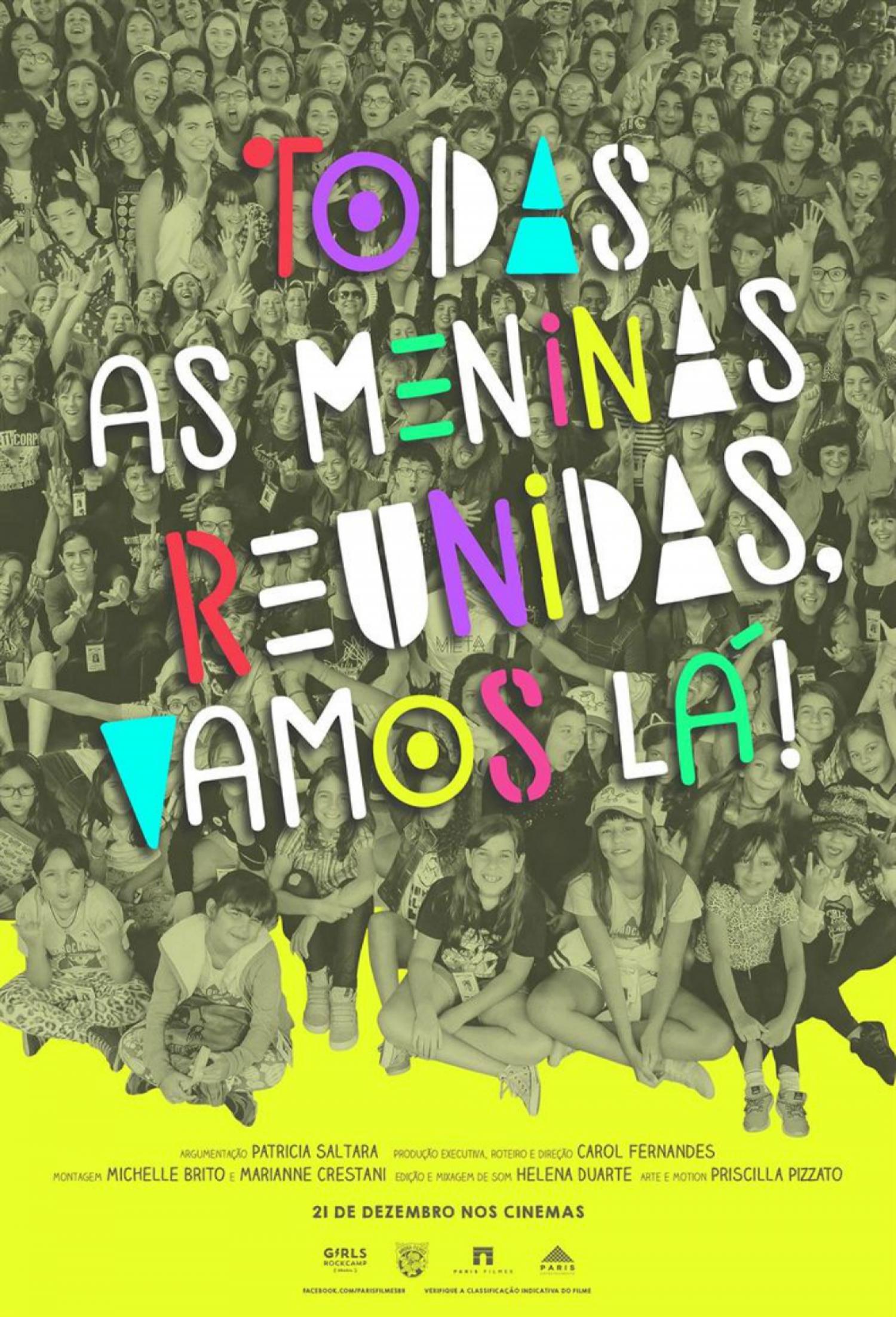 Poster de Todas as Meninas Reunidas, Vamos Lá
