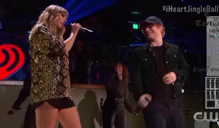 """Com participação de Ed Sheeran, a Taylor Swift fez o primeiro show da era """"Reputation"""""""