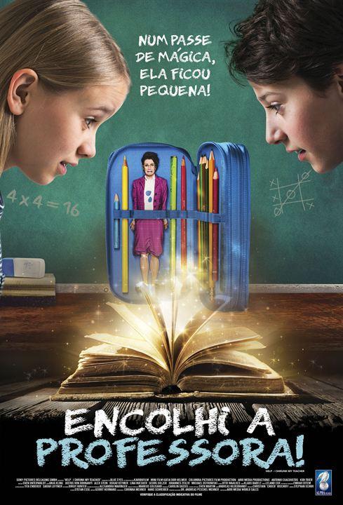 Poster de Encolhi a Professora