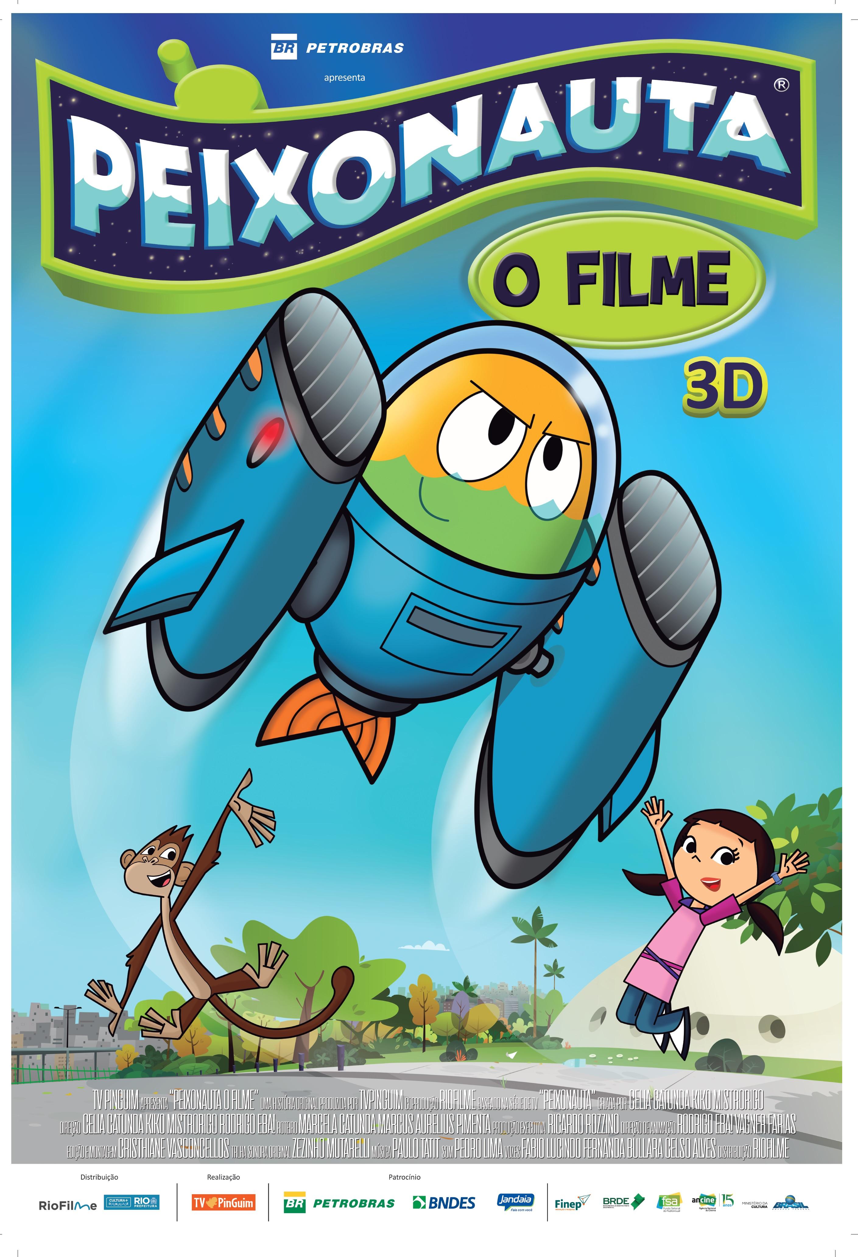 Poster de Peixonauta - O Filme