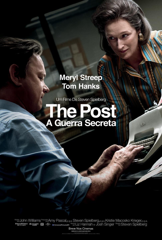 Poster de The Post - A Guerra Secreta