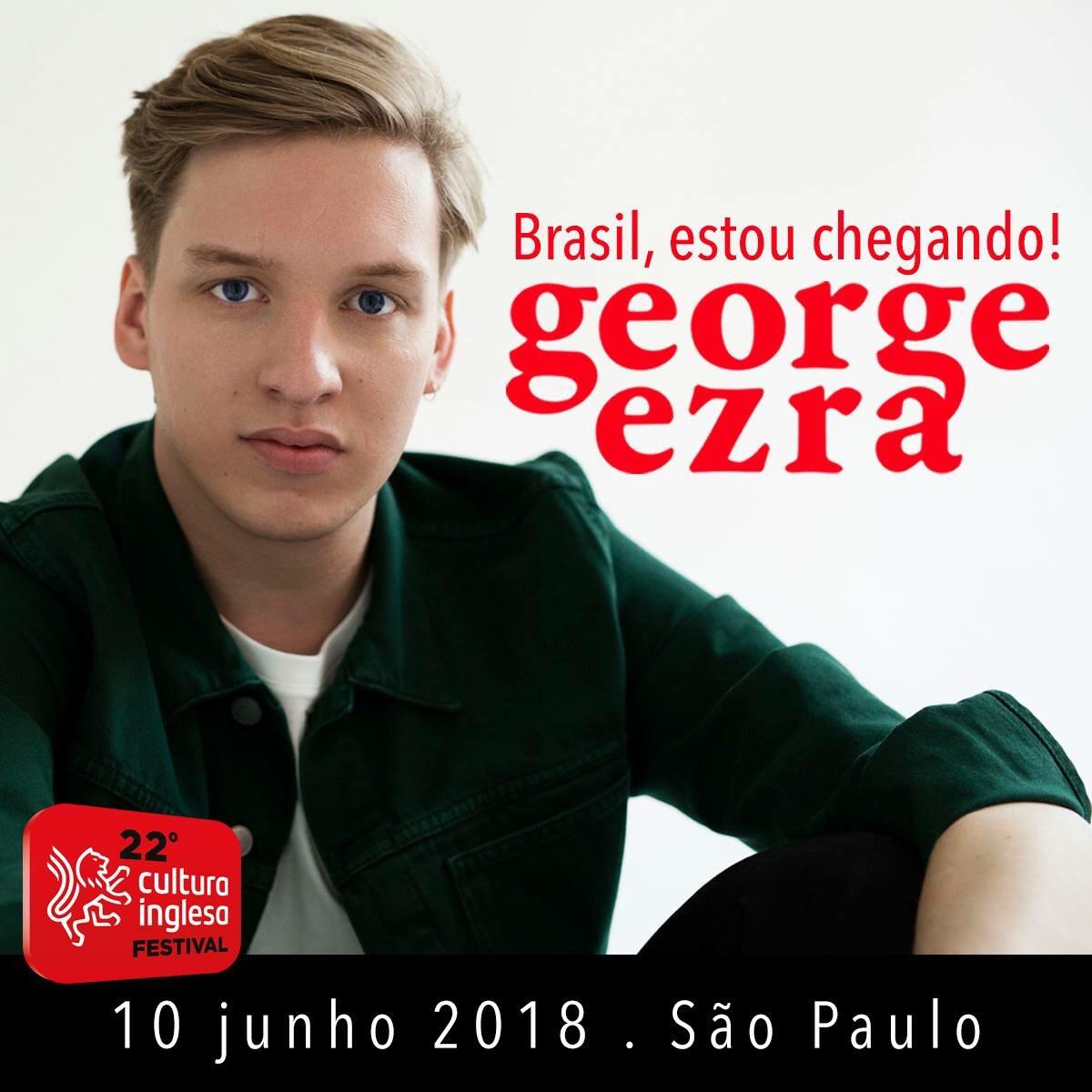 George Ezra Cultura Inglesa Festival
