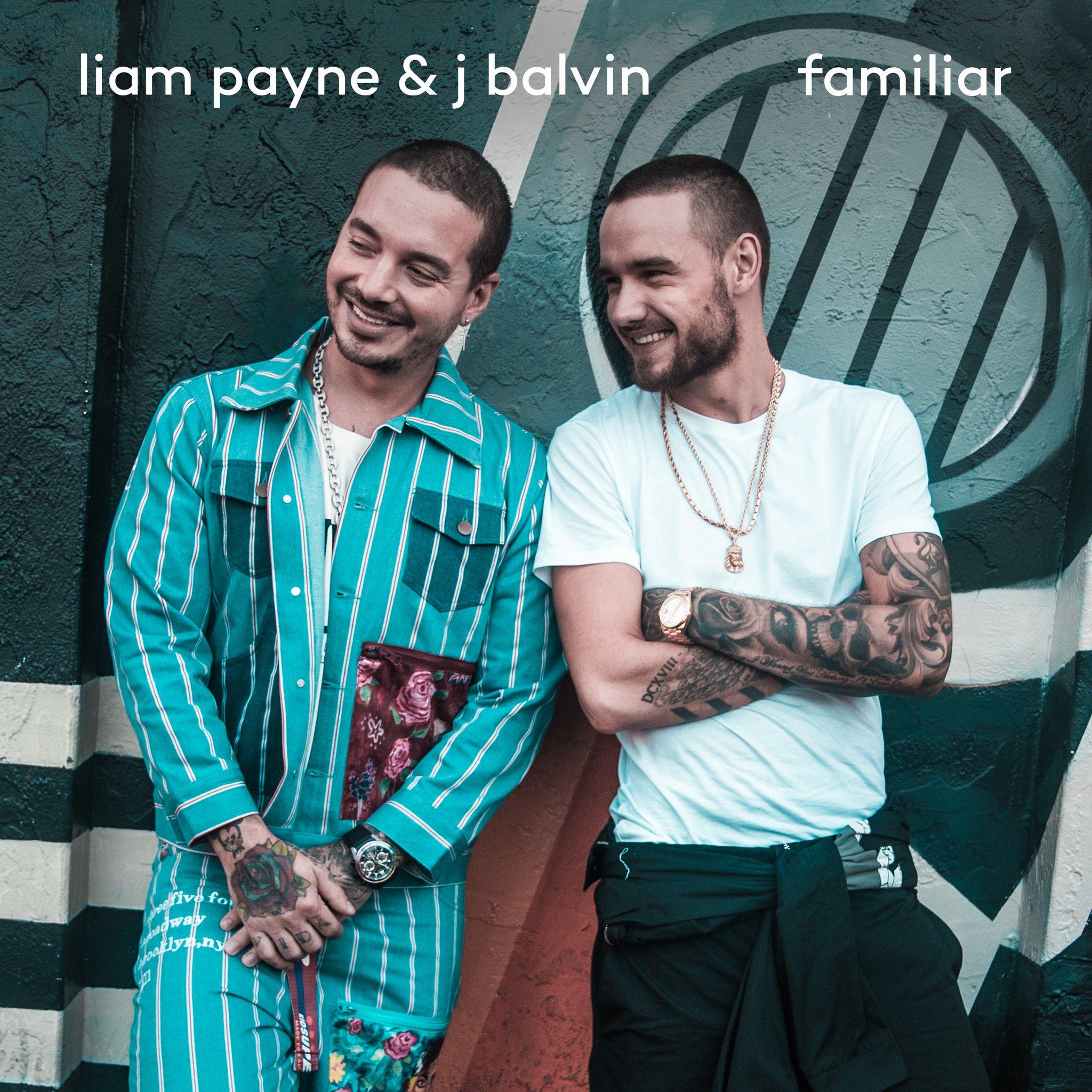 """Venha ouvir """"Familiar"""", parceria entre Liam Payne e J Balvin"""