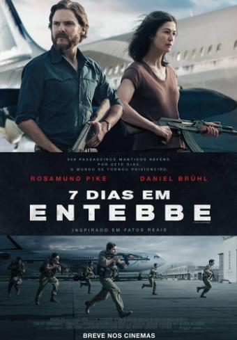 Poster de 7 Dias em Entebbe