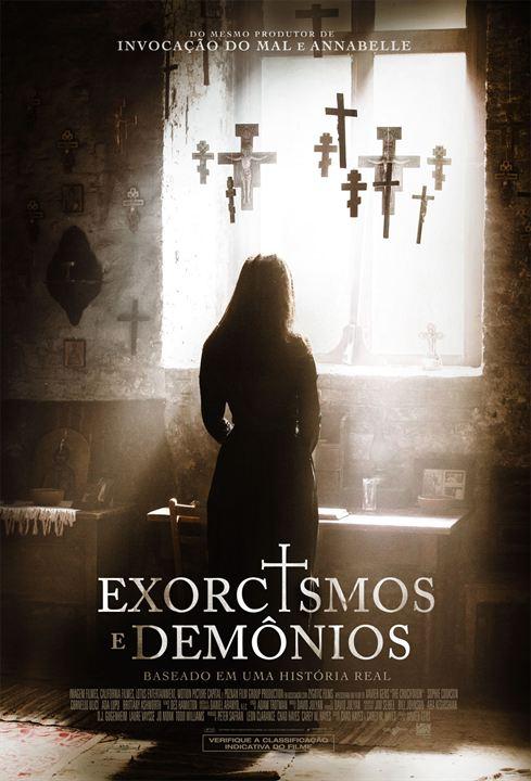 Poster de Exorcismos e Demonios